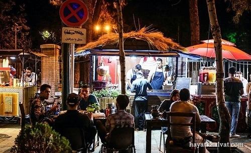 استریت فود تهران کجاست؟+عکس