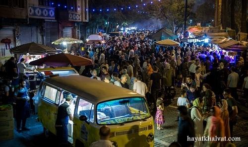 خیابان سی تیر، استریت فود تهران کجاست؟