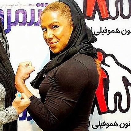 سارا مصطفی نژاد بانوی بدنساز ایرانی