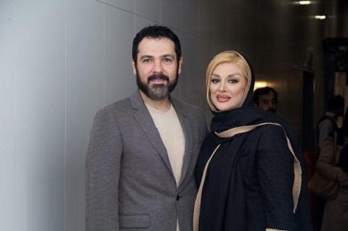عکس کوروش تهامی و همسرش پونه یزدانی(همسر دومش)