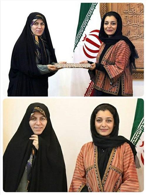 ساره بیات سفیر صنایع دستی شد