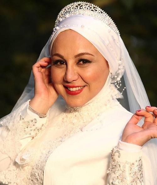 بهنوش بختیاری در لباس عروس