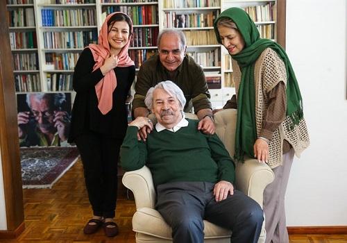 عکس داوود رشیدی و همسرش احترام برومند، لیلی رشیدی و پرویز پرستویی
