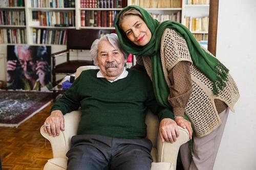عکس داوود رشیدی و همسرش احترام برومند