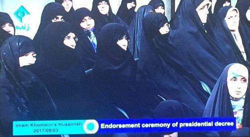 اولین عکس منتشر شده از دختر روحانی رئیس جمهور روحانی