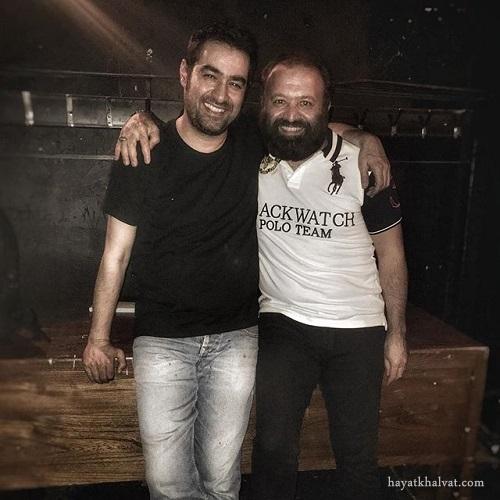 سیدعلی صالحی در کنار شهاب حسینی پس از نمایش اعتراف
