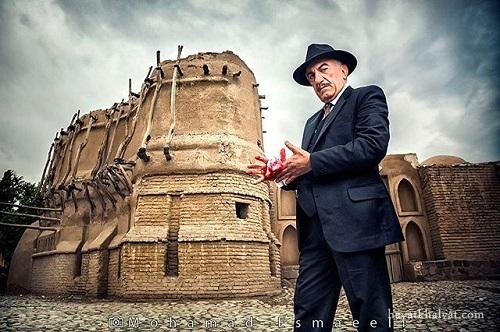عکس رضا کیانیان در سریال شهرزاد 2