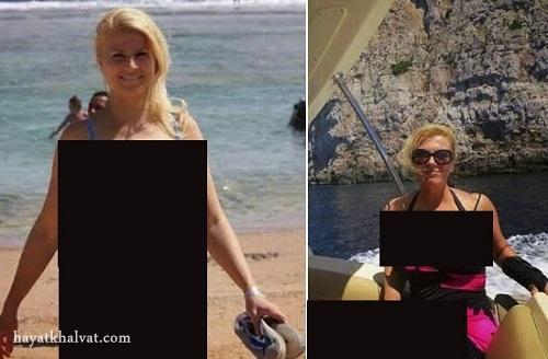 """جنجال عکس های لخت """"کالیندا کیتاروویچ"""" رئیس جمهور کرواسی!"""