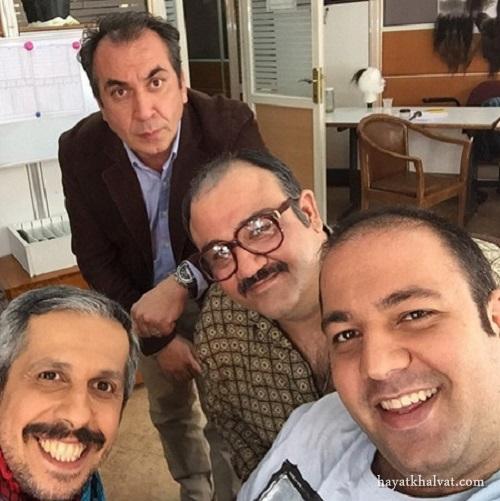 مهران غفوریان، جواد رضویان،علی اوجی و سیامک انصاری