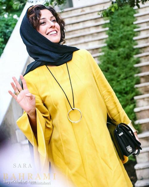 عکس سارا بهرامی در جشن منتقدان سینما