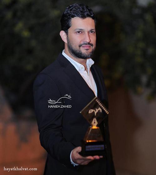 عکس حامد بهداد برنده تندیس جشن منتقدان سینما