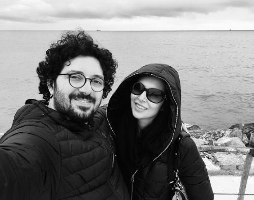 عکس هومن بهمنش و همسرش، عکس همسر هومن بهمنش