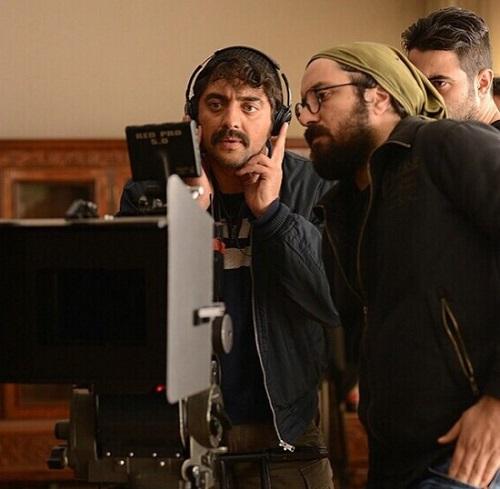 عکس هومن بهمنش مدیر فیلمبرداری سینما