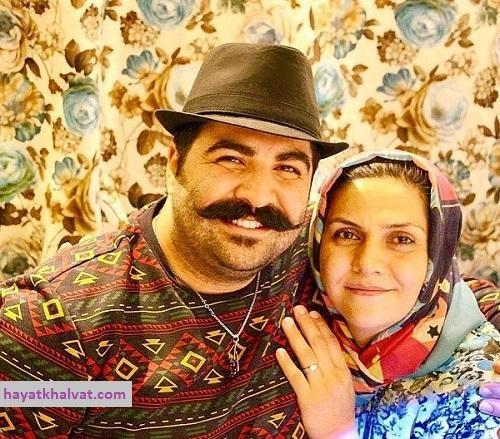 عکس بهنام بانی و مادرش