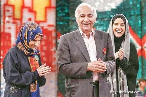 رضا بنفشه خواه و خواهر و خواهر زاده اش در خندوانه