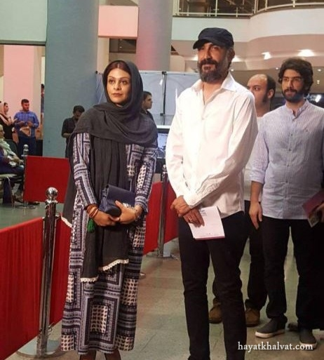 عکس بازیگران و همسرانشان در جشن حافظ 96