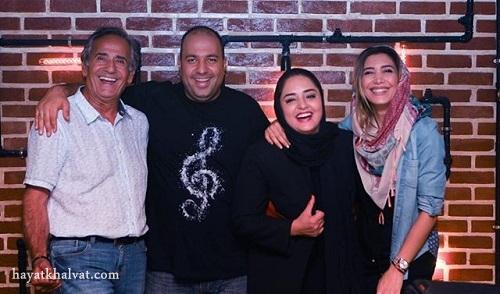 آمفی کافه , علی اوجی و همسرش , مجید مظفری
