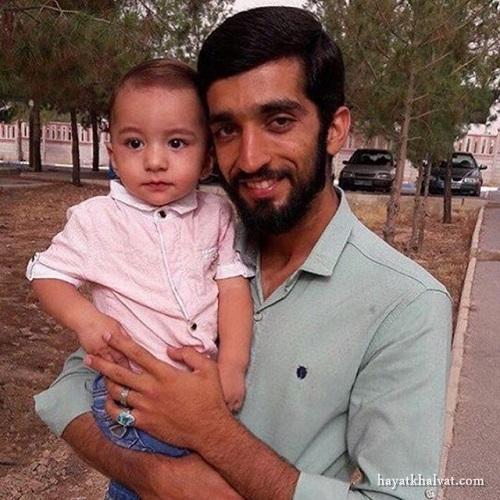 محسن حججی و فرزندش