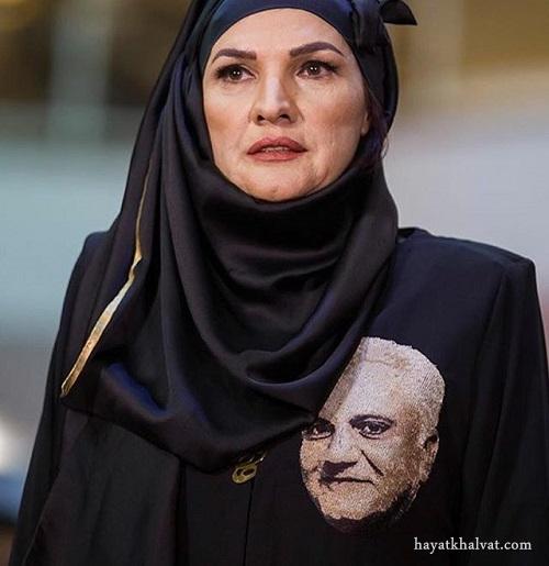 آذر معماريان همسر علی معلم