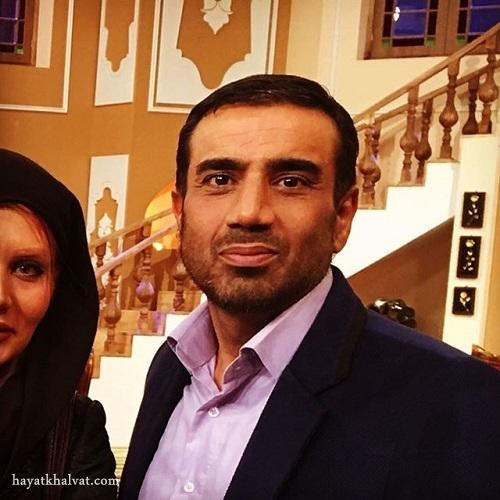 نصرالله رادش و همسرش در برنامه دورهمی