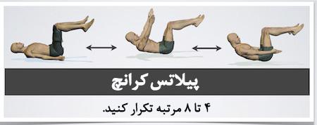 کمر درد , ورزش هایی برای تقویت کمر