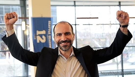 دارا خسروشاهی ایرانی مدیر عامل اوبر