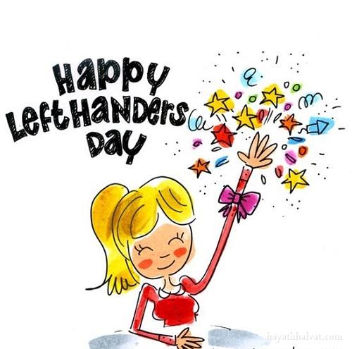روز جهانی چپ دست ها مبارک , happy left handers day