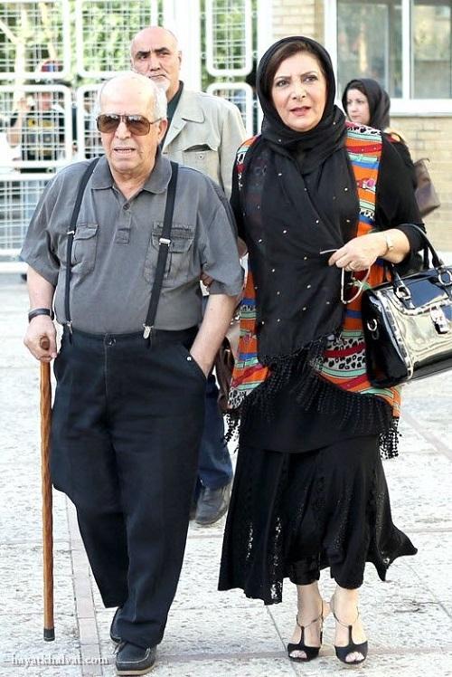 محسن قاضی مردادی و همسرش