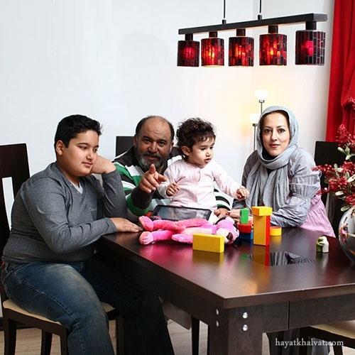 عکس خانوادگی نادر سلیمانی