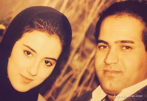 جوانی نادر سلیمانی و همسرش , نادر سلیمانی و همسرش