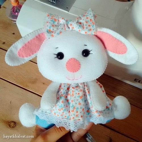 خرگوش نمدی , عروسک نمدی