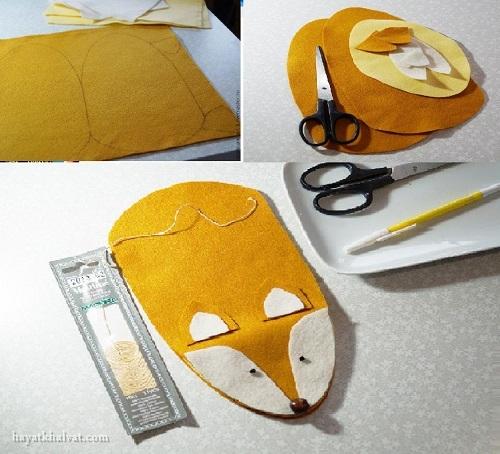 آموزش تصویری ساخت عروسک نمدی نمایشی