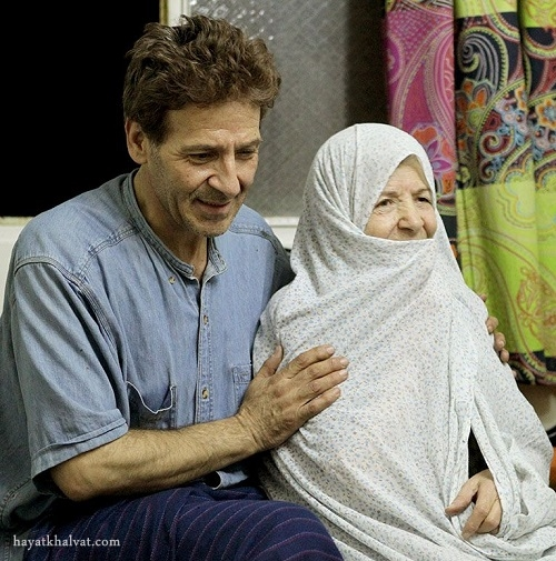 ابوالفضل پورعرب و مادرش