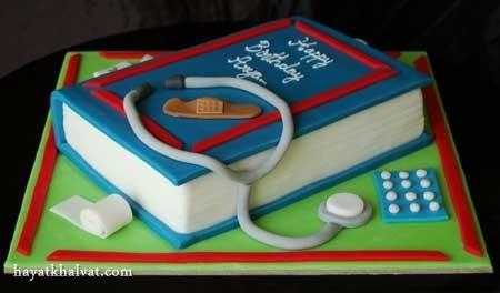 کیک تولد پزشک