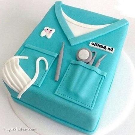 کیک تولد دندان پزشک