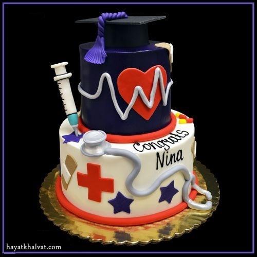 عکس کیک پزشکی , مدل های کیک روز پزشک