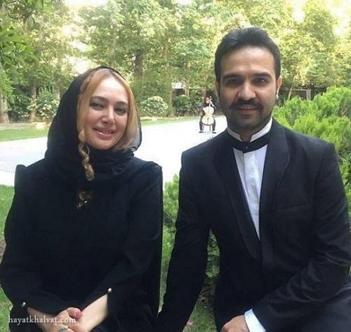 صبا کمالی و همسرش