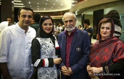 عکس خانوادگی سپند امیر سلیمانی
