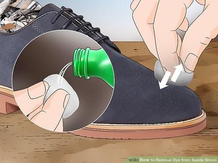 تمیز کردن کفش جیر , کفش جیر