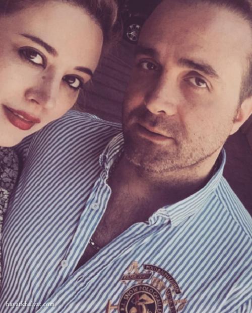 عکس سینا سرلک و همسرش