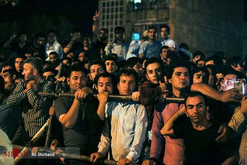 عکس های مراسم اعدام قاتل آتنا اصلانی