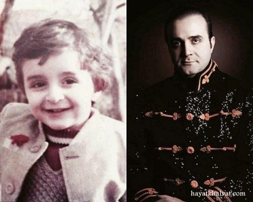 عکس کودکی سینا سرلک در ۵ سالگی