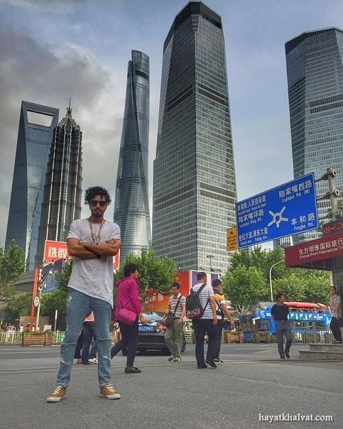 مهرداد صدیقیان در شانگهای چین