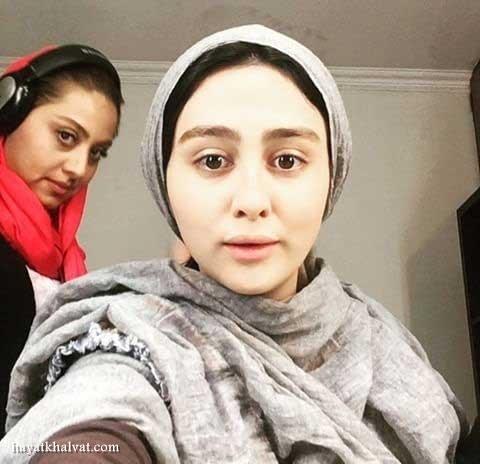 بازیگر نقش مرضیه در سریال گسل , ستاره حسینی بدون آرایش