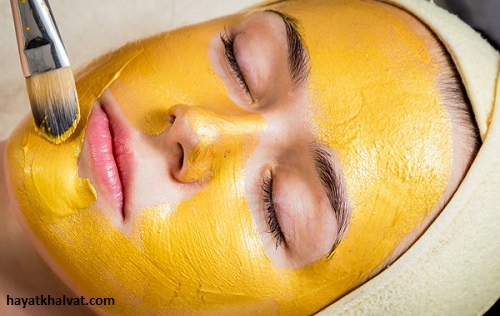 ماسک زردچوبه برای پوست های چرب
