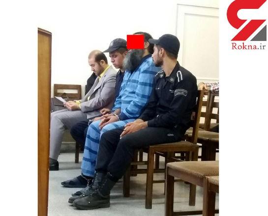 قاتل در دادگاه: اگر اعدامم نکنید و آزاد شوم فوراً داعشی می شوم!+عکس