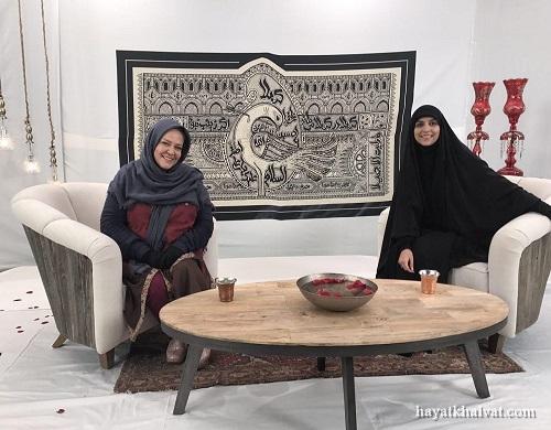 عکسهای بهاره رهنما و مژده لواسانی در ویژه برنامه ماه محرم