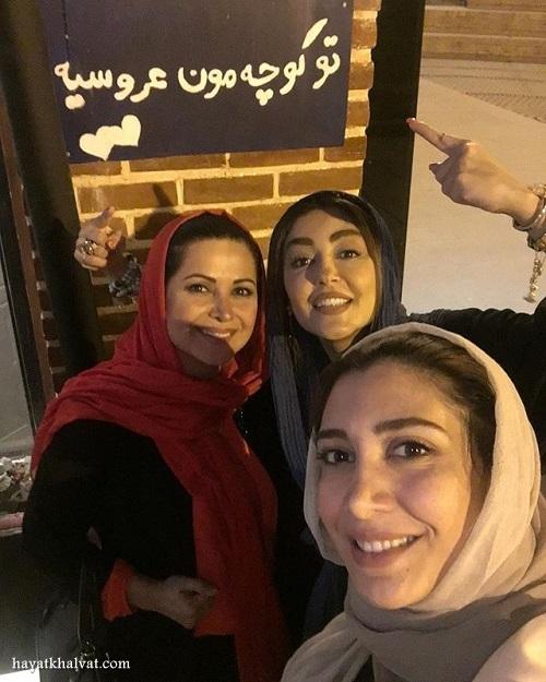 آمفی کافه مجید مظفری , شقایق فراهانی