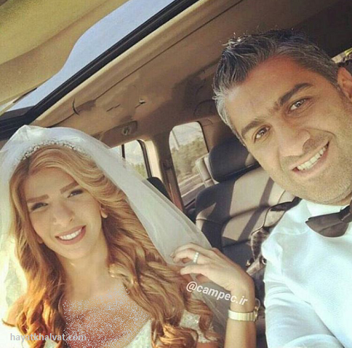 عکس عروسی فرزاد مجیدی , همسر فرزاد مجیدی