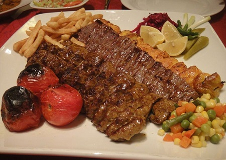 رستوران آبشار در دبی